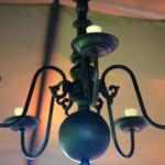 Venetian Bronze Candelier