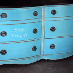 My Very First Chalk Painted Dresser