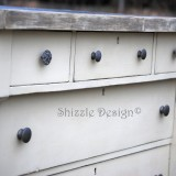 Empire Dresser Refinished in Old White Chalk Paint