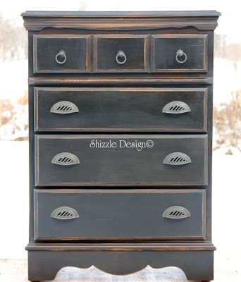Tall Black Dresser With Pottery Barn Appeal Shizzle Design