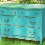 Whimsical Cottage Style Dresser