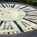 Hand Painted Clock Table Transformation at Knick of Time