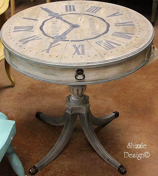 drum table clock colors ideas clay chalk 546 pinterest