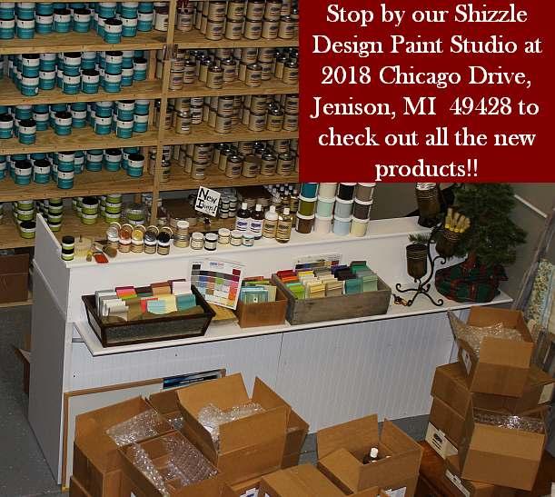 shizzle design paint studio 2018 Chicago Drive Jenison MI  American Paint Company CeCe Caldwell's Paints retailer buy chalk clay instructor workshops classes