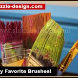 Favorite Brushes for Paint, Wax and Buffing Chalk & Clay Paints and How to Clean them