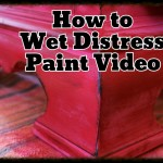 VIDEO – How to Wet Distress Paint