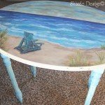 """Quiet Place"" Beach Table"