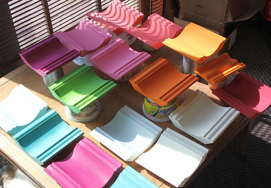 American Paint Company Color Swatches painted trim pieces Shizzle Design Michigan - Copy