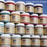 American Paint Company Paints sample size paint pots www.shizzle-design.com Shizzle Design Online Shop
