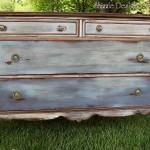 Vintage Dresser in Chesapeake Blue