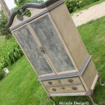 French Country Armoire ~ includes Video on Wet Distressing
