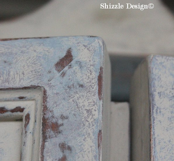 French Country Armoire Shizzle Design, ideas, purple, blue, furniture, chalk, clay, American Paint Company, Michigan 4