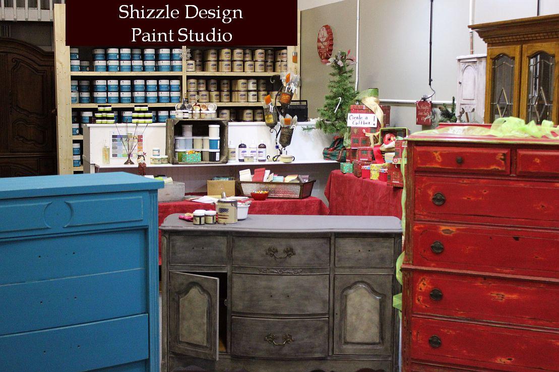 Shizzle Design Paint Studio 2018 Chicago Drive Jenison Michigan 49428 buy paint retailer chalk clay experts