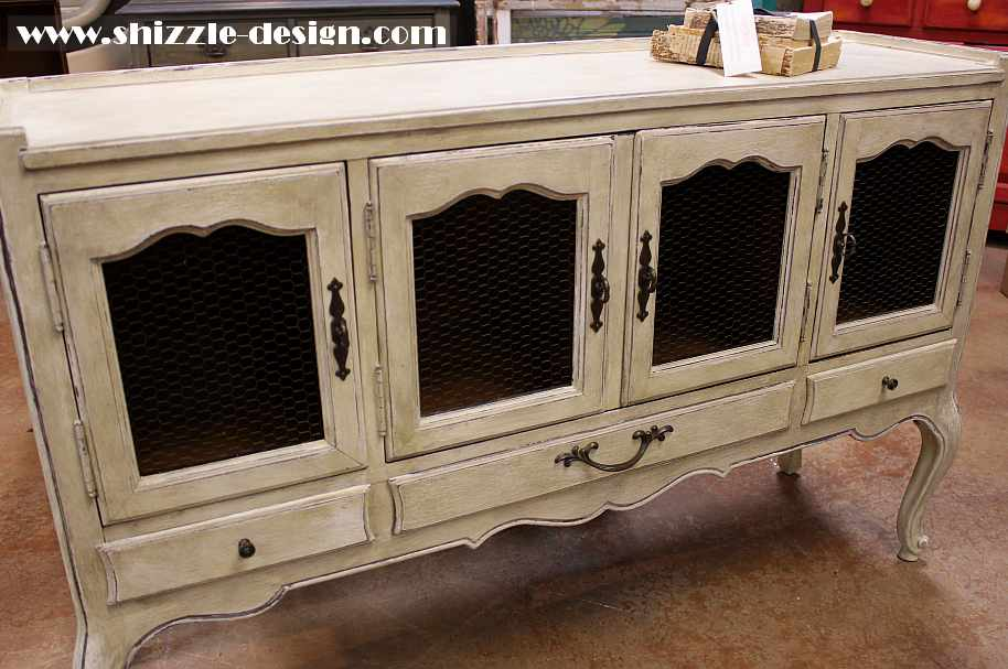 Shizzle Design — Chalk & Clay Painted Furniture & re-purposed