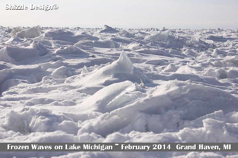 1 Grand Haven Michigan State Park Lake Michigan Ice February 2014  11