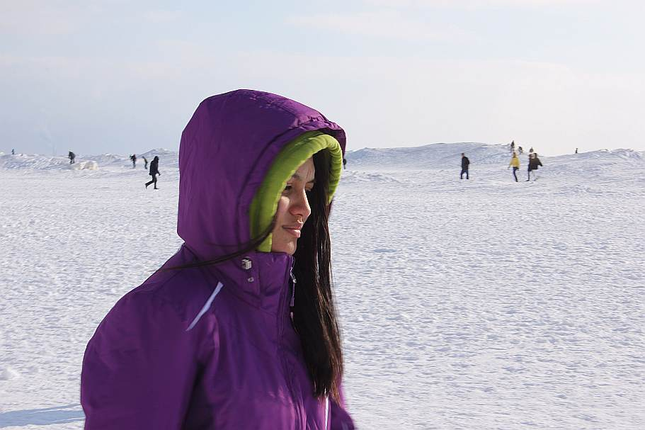 1 Grand Haven Michigan State Park Lake Michigan Ice February 2014  21