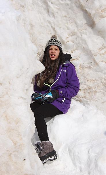 1 Grand Haven Michigan State Park Lake Michigan Ice February 2014  6