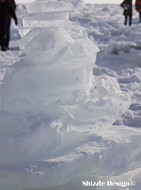 1 Grand Haven Michigan State Park Lake Michigan Ice February 2014  8