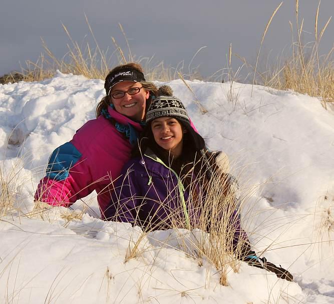 Grand Haven Michigan State Park Lake Michigan Ice February 2014  11