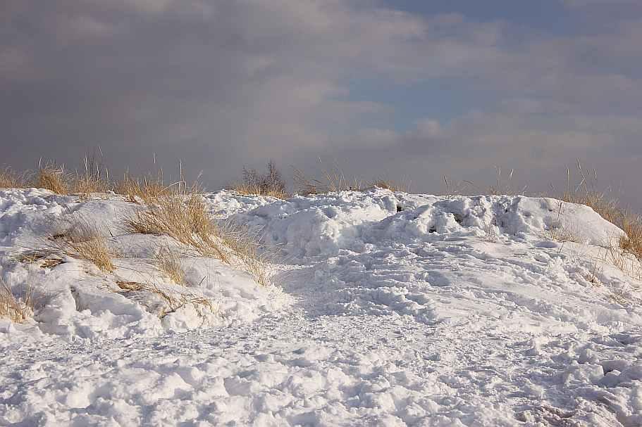 Grand Haven Michigan State Park Lake Michigan Ice February 2014  13