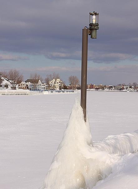 Grand Haven Michigan State Park Lake Michigan Ice February 2014  19
