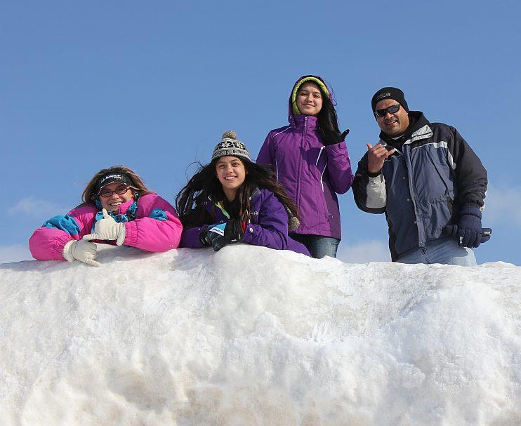 Grand Haven Michigan State Park Lake Michigan Ice February 2014  26