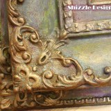 Add Sparkle to Painted Furniture using American Paint Company's Metallic Mica Powders VIDEO