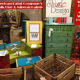Look What's New at Shizzle Design ~ Painted Chalk & Clay Furniture for Sale in West Michigan + Paint Sale