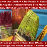 Don't Miss this FREE Opportunity Experiment with American Paint Company's Paints & Finishes at Caledonia Vintage Marketplace Anniversary & Flea Market Event