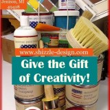 Give the Gift of Creativity with Shizzle Design