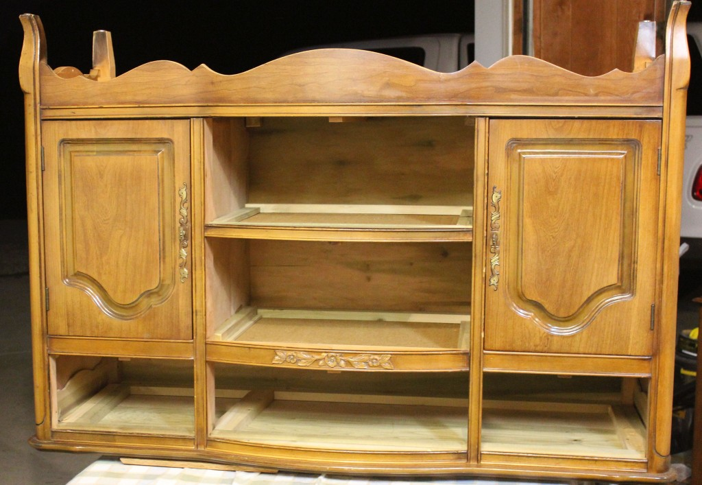 Shizzle Design French Provincial Buffet Refinished With