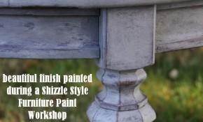 Last Furniture Paint Workshop of Summer ~ August 9