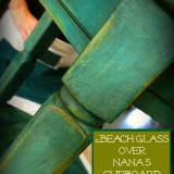 August chalk paint furniture Shizzle Design workshops best class Michigan American Paint Company Beach Glass teal Dark Wax