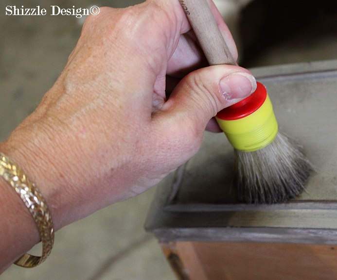 American Paint Company's American Grit application Shizzle Design