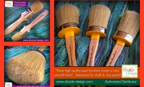 THE Finest Chalk & Clay Paint & Wax Brushes from Vintiquities are now available in the U.S.!