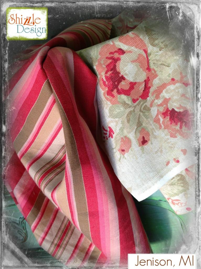romantic floral fabric shizzle design 2