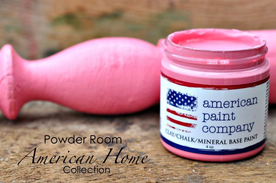 American Paint Company Powder Room