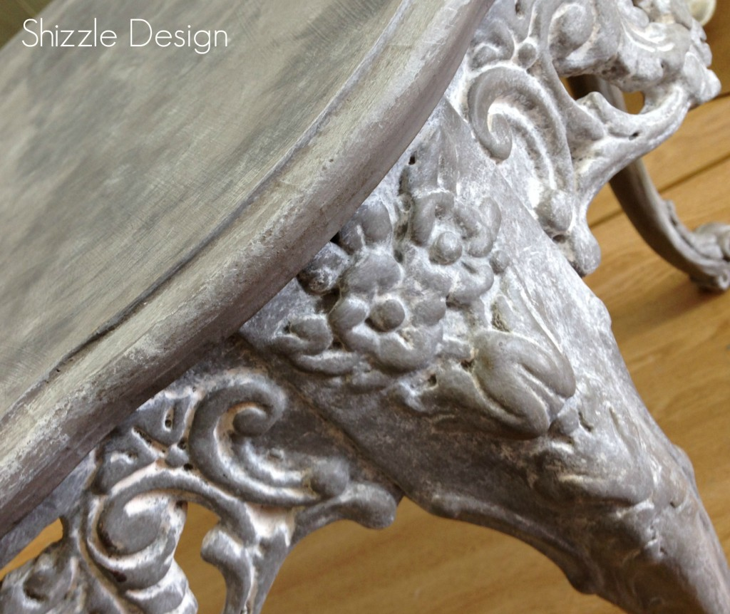 American Paint Company Shizzle Design chalk clay painted furniture table Sackcloth Cameo ideas