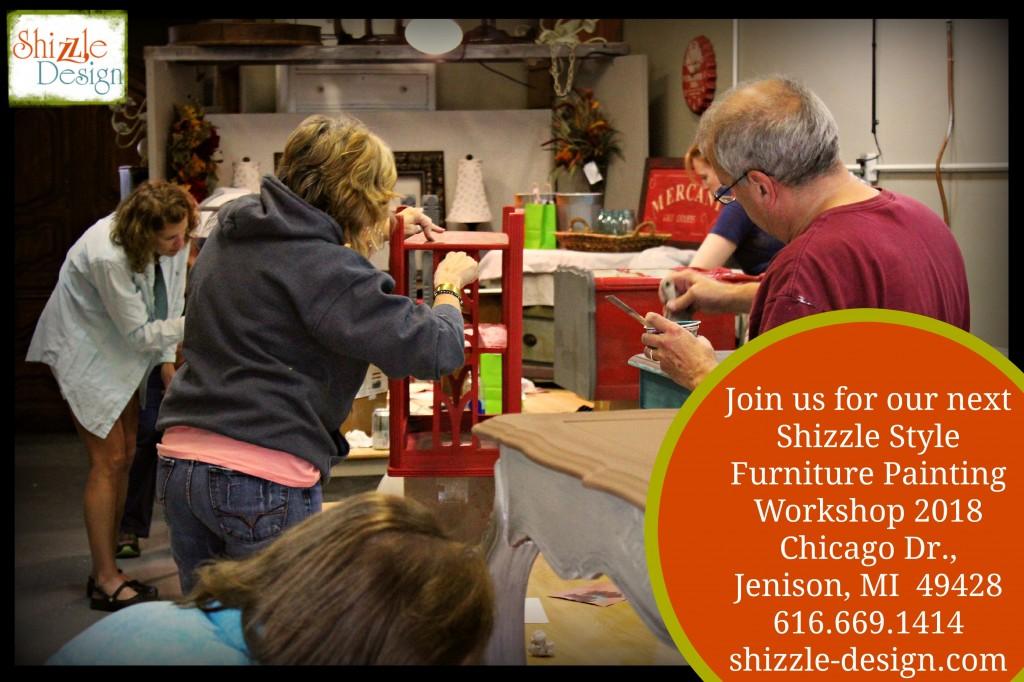 best chalk clay paint classes Grand Rapids Jenison Michigan DIY how to ideas color inspiration painted furniture workshops 7 best