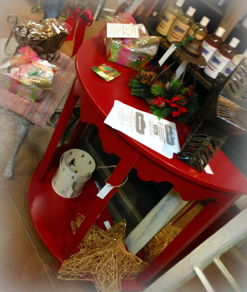 Christmas 2014 Not So Shabby Open House American Paint Company Retailer Shizzle Design Chalk paint supplies painted furniture workshops MI 3