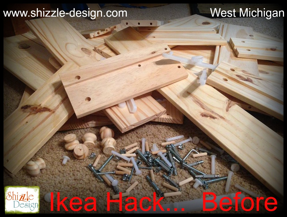 IKEA Hack – Rast 3 Drawer Chest To Rustic