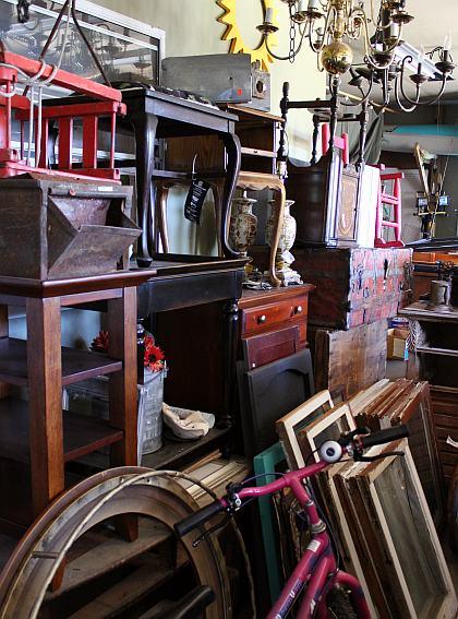 garage flea market finds