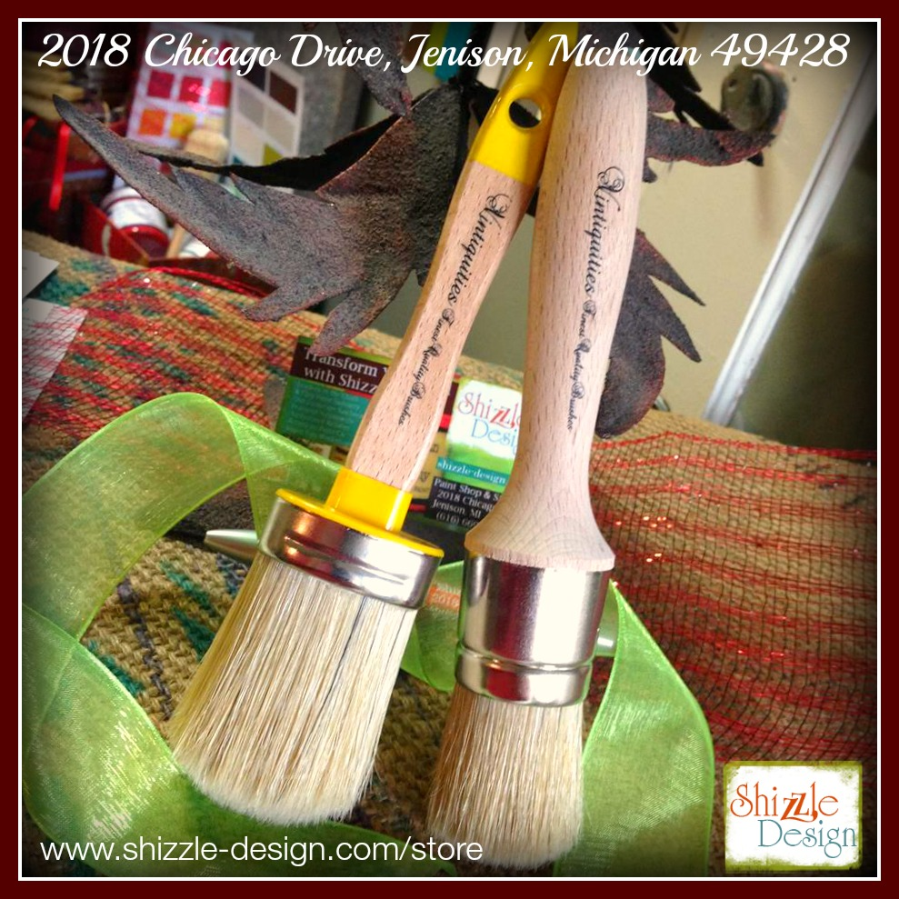 Vintiquities Paint and Wax Brushes are the Best brushes for chalk and clay paints, finest quality. Shizzle Design