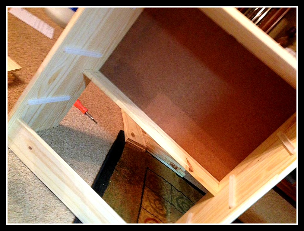 Rast 3 Drawer Chest To Rustic Red Kitchen
