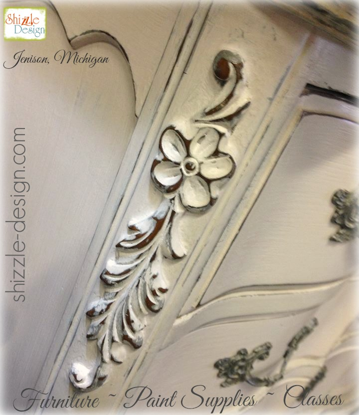 gray pink painted highboy chalk clay paint shizzle design jenison mi american paint company dresser ideas