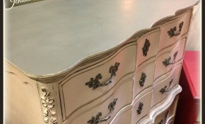 Pretty Pink French Provincial Highboy with video