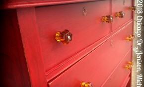 Little Red Vintage Dresser