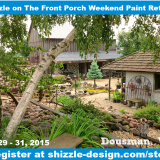 2Shizzle on The Front Porch Weekend Furniture Paint Retreat Wisconsin Classes Miss Mustardseed Best workshops chalk paint Dream Farm 3