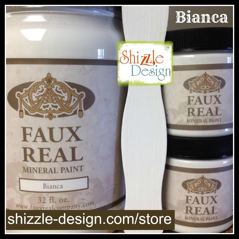 Bianca - Faux Real Mineral Paint Shizzle Design Michigan retailer white chalk paint - Copy