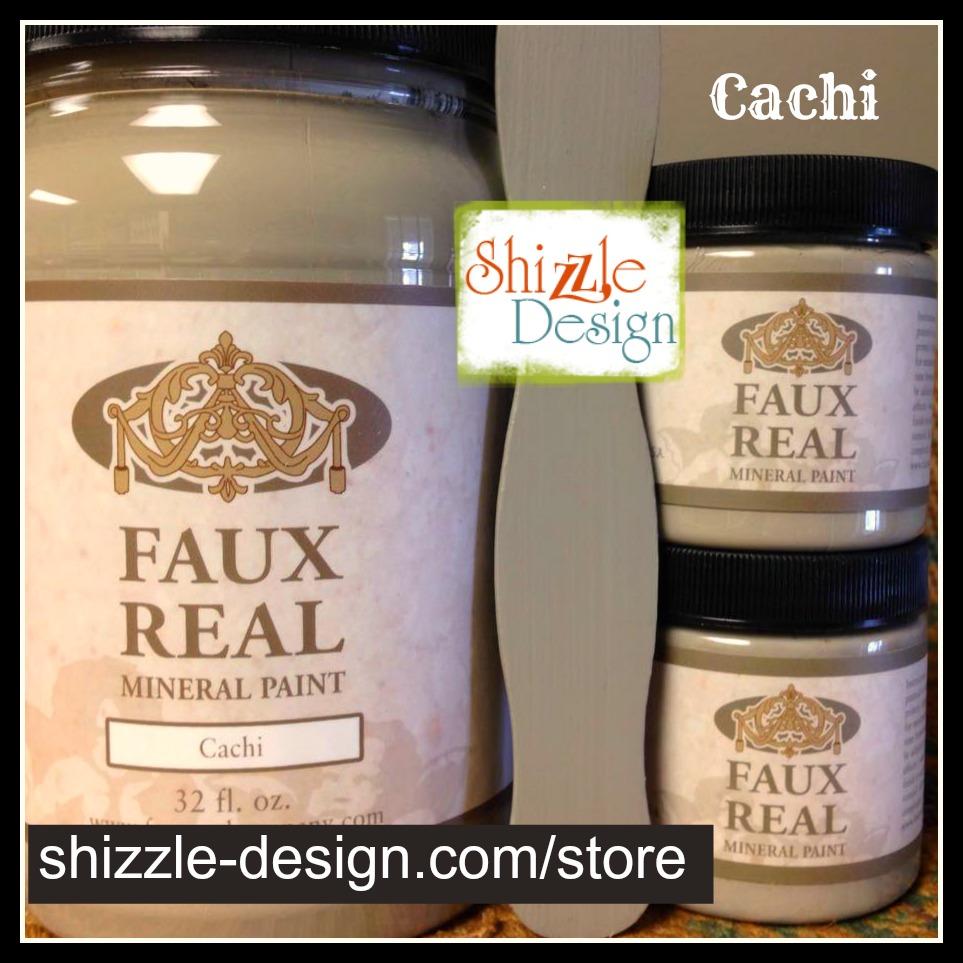 Cachi - Faux Real Mineral durable Paint Shizzle Design Michigan retailer khaki green gray taupe best chalk paint colors - Copy